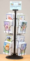artfulpassages.com - Barb Bromley Greeting Card Display