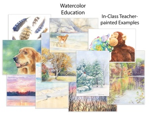 artfulpassages.com - In-class teaching example artwork