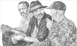 Three Amigos - Pencil