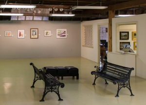 Art Exhibit Barbara Bromley Artist's Attic