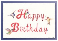 #22 Hummer Birthday (3X)